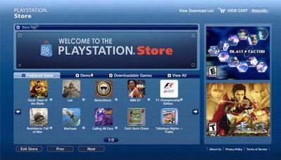 PlayStation Store dostępny także poprzez PC