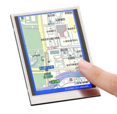 Prototypowy LCD ze skanerem Sharpa
