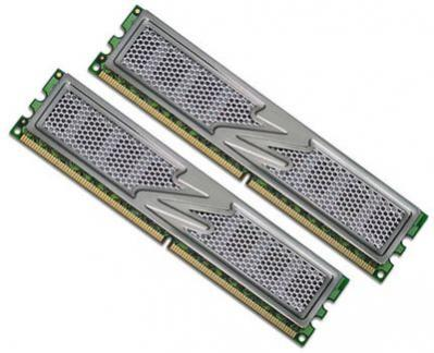 OCZ DDR2 PC2-6400 Titanium 4GB Edition Dual Channel
