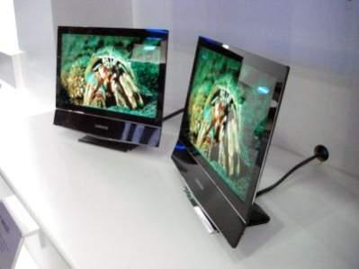 Prototypowe telewizory OLED firmy Samsung