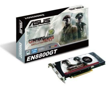 Testowana karta ASUS EN8800 GT w komplecie dostarczana jest z grą Company of Heroes Opposing Fronts