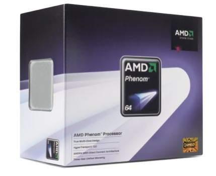 Opakowanie wersji BOX procesorów AMD Phenom