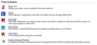 Projekty w Google Mac Developer Playground