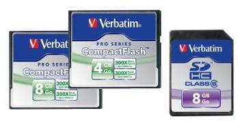 Nowe karty pamięci Verbatima