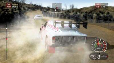 Silnik NEON w Colin McRae Rally: Dirt