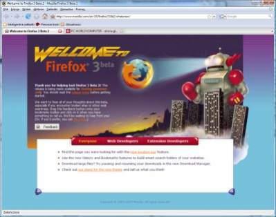 Firefox 3.0 beta 2