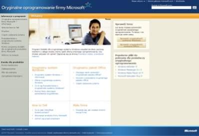 """""""Program Dodatki dla oryginalnego systemu Windows nieustannie służy pomocą klientom z całego świata, którzy padli ofiarą pirackiego oprogramowania"""". - Tak, jaaasne."""