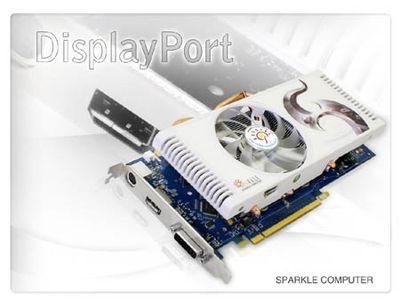 Sparkle przedstawia kartę z DisplayPort