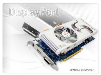 SPARKLE GeForce 8800 GT DisplayPort