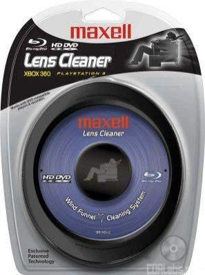 Maxell Blu-Ray/HD DVD Lens Cleaner