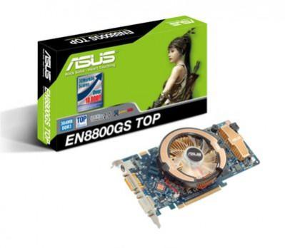 Asus: nowe karty na GeForce 8800GS