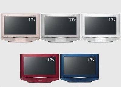 Panasonic przedstawia 17-calowy TV