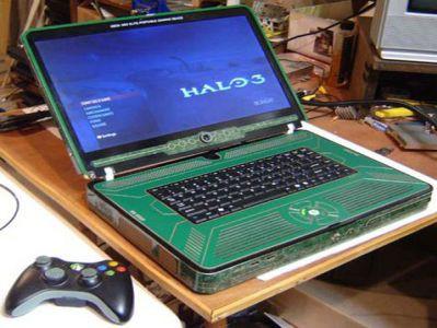 Xbox 360 Elite jako... Laptop?
