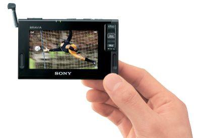Kieszonkowy telewizor od Sony