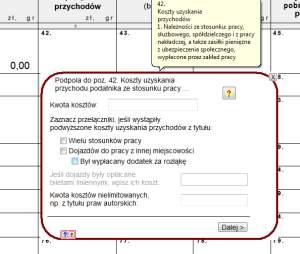 Rubryki, w których łatwo coś pomylić posiadają specjalne formularze, które minimalizują ryzyko wpisania błędnych danych