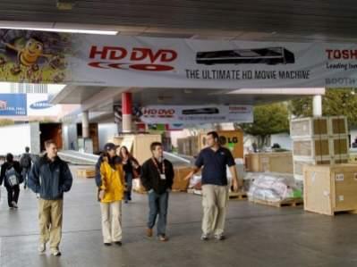 Targi CES 2008 - zaplanowana konferencja HD DVD nie odbyła się, miedzy innymi ze względu na nagłą decyzję Warnera