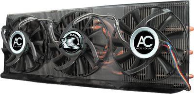 Chłodzenie GPU z trzema wentylatorami