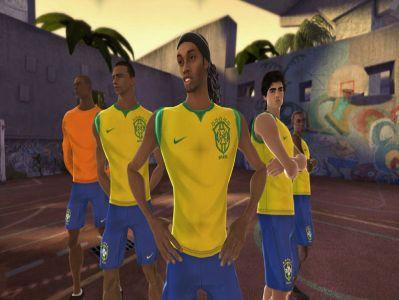 Ronaldinho promuje FIFA Street 3