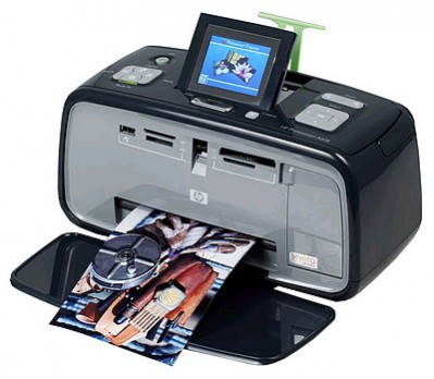 Bezprzewodowa drukarka HP PhotoSmart A618
