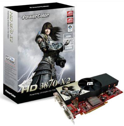 PowerColor: Radeon HD 3870 X2 z GDDR4