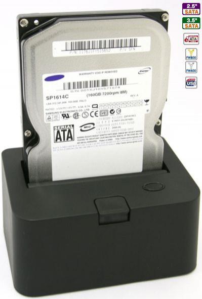 Czytnik HDD z czterema interfejsami