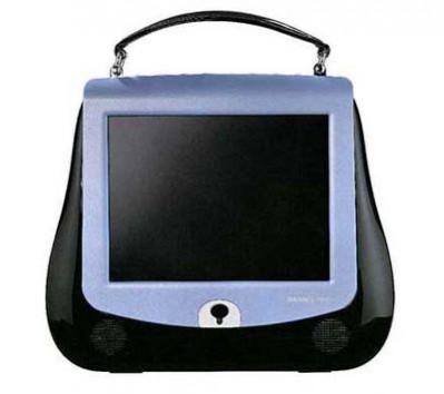 LCD TV w kształcie damskiej torebki