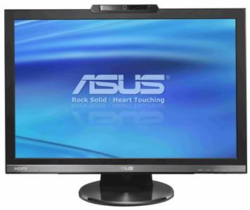 "24"" LCD Asusa z kamerą internetową"