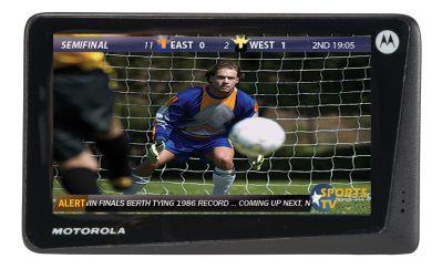 Mobilny telewizor od Motoroli