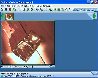 Kamery internetowe: komunikacja, monitoring i... działko laserowe