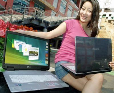 Nowe biurkowe notebooki LG