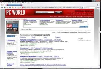 Nowy mechanizm wyszukiwawczy opiera się na silniku Google