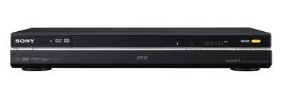 Sony: osiem nowych nagrywarek DVD z HDD