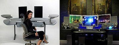 Biurko Maxo firmy Biomorph - szyk, elegancja i ergonomia