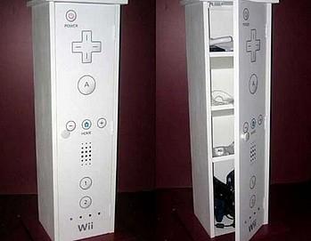 Wiimot Cabinet (fot. Gizmodo.com)
