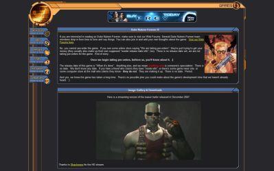 Duke Nukem Forever - wciąż oficjalnie zapowiadany przez 3DRealms...