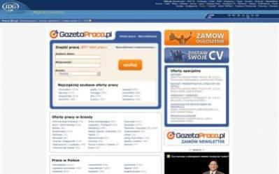 Strona główna serwisu Praca.idg.pl