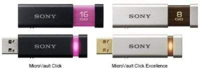 Nowe pendrive'y Sony