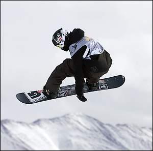 Shaun White podczas zawodów