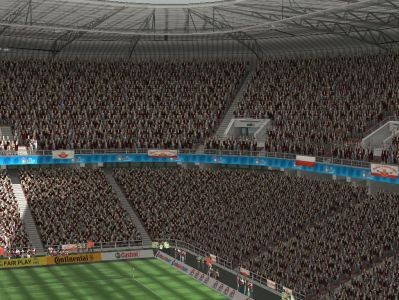 Euro 2008: Komputerowa symulacja meczu Polska - Chorwacja