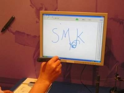 Wireless Input Pen (źródło: Techon.nikkeibp.co.jp)