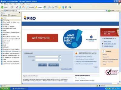 Witryna stworzona przez phisherów, podszywająca się pod serwis bankowy PKO BP (źródło: G DATA)