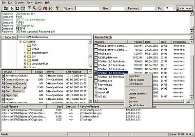 FileZilla - jeśli korzystasz z FTP to program dla ciebie