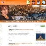 Oficjalna strona internetowa Aleksandry Jakubowskiej