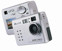 4 mln pikseli z aparatu Mustek MDC 5400
