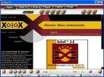Główne okno programu Xolox 2.0