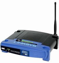 router Linksys WAG54G