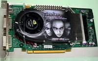 karta graficzna AOpen z interfejsem PCI Express 16x i procesorem GeForce 6800 Ultra
