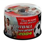 TDK: Football Generation 2004 do każdego CD-R80 Metallic