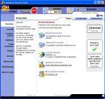 Przejrzysty interfejs pakietu Zone Alarm Security Suite