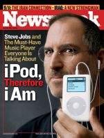 Okładka nowego numeru Newsweeka - Steve Jobs z nową generacją iPoda